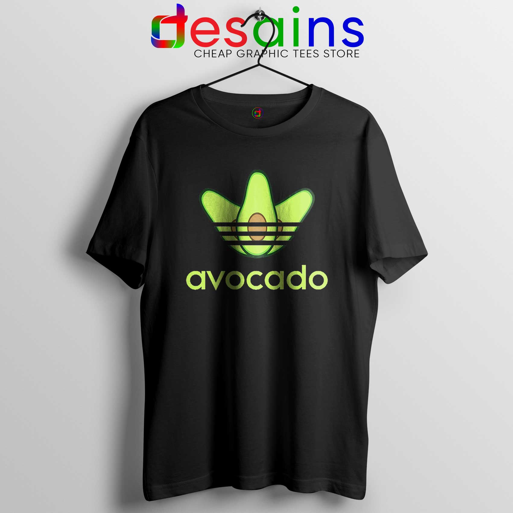 en soldes 04548 79107 Avocado Originals Three Stripes Tee Shirt Cheap Adidas Size S-3XL