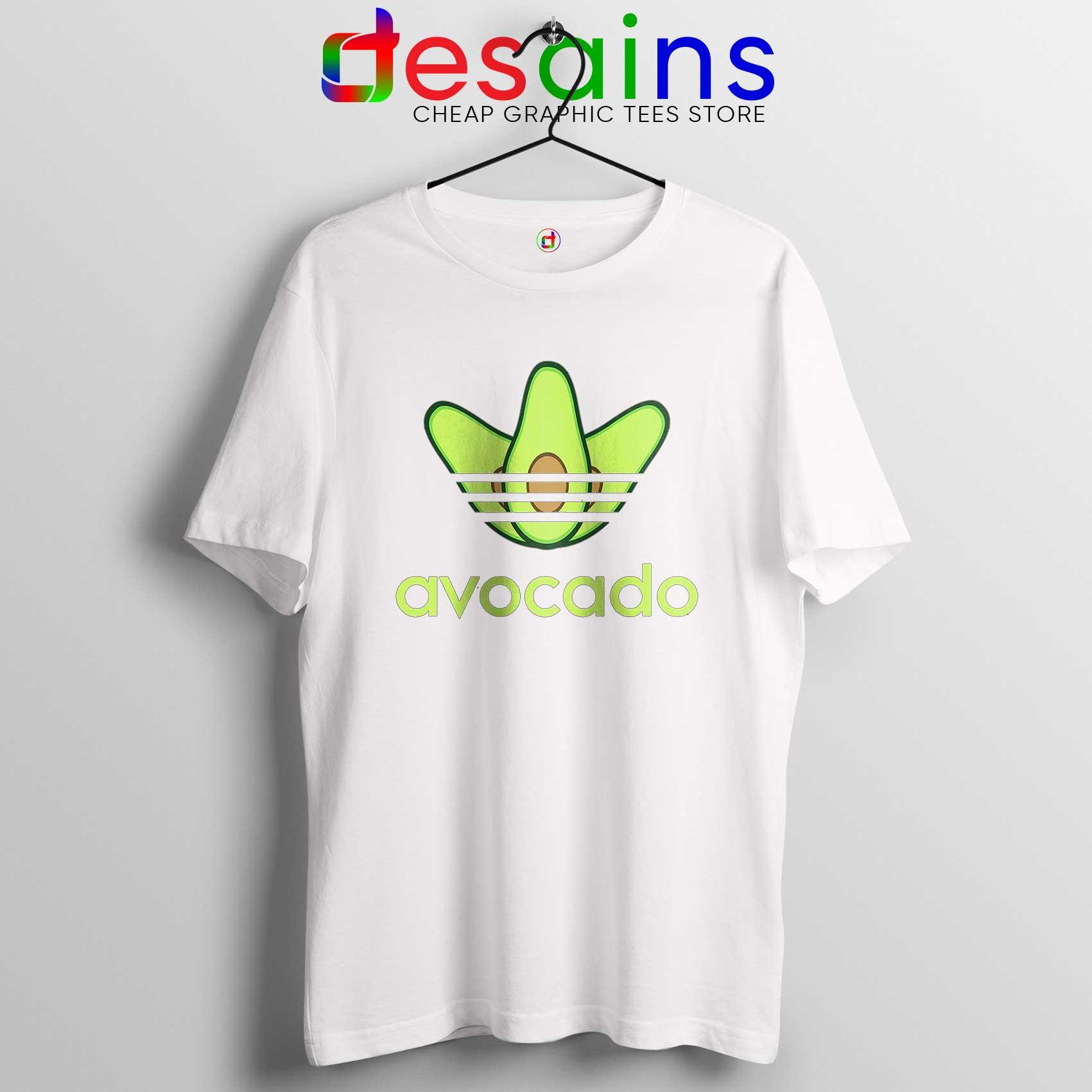 ee547ae606e2a Avocado Originals Three Stripes Tee Shirt Cheap Adidas Size S-3XL