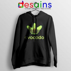 Avocado Three Stripes Cheap Hoodie Funny Adidas Size S-3XL