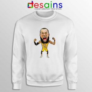 Best Lakers James Sweatshirt LeBron James Crewneck Size S-3XL