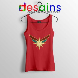 Best Tank Top Captain Marvel Powers Seal Size S-3XL