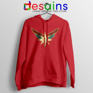 Buy Hoodie Captain Marvel Seal Costume Logo Size S-3XL