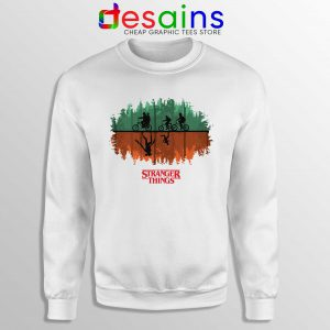 Buy Sweatshirt Stranger Things 3 Poster Crewneck Sale