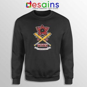 Buy Sweatshirt Stranger Things Season 3 Demogorgon Hunter Size S-3XL