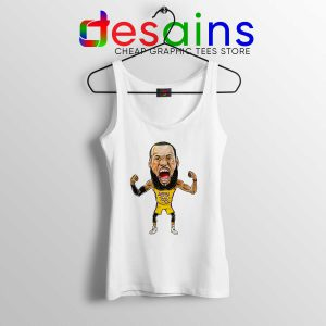Buy Tank Top Lakers James NBA LeBron James Tank Size S-3XL
