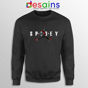 Cheap Sweatshirt Air Spidey Spider Man Crewneck Size S-3XL