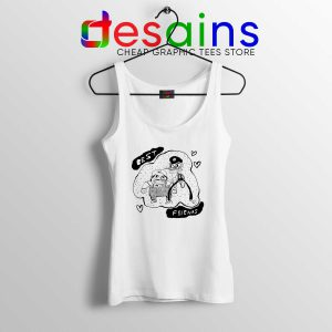 Cheap Tank Top Best Friends Nintendo Super Mario Bros Size S-3XL