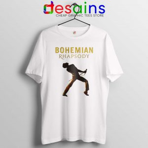 Cheap Tee Shirt Bohemian Rhapsody Queen Tshirt Freddie Mercury