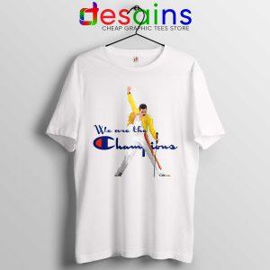 cb9d9d4902b9 Cheap Tee Shirt Freddie Champion Tshirt We are the Champion Queen