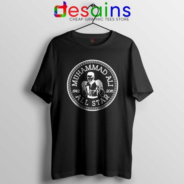 Cheap Tee Shirts Muhammad Ali All Star Converse Logo Black Tshirt
