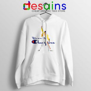 Hoodie Freddie We are the Champion Queen Size S-3XL