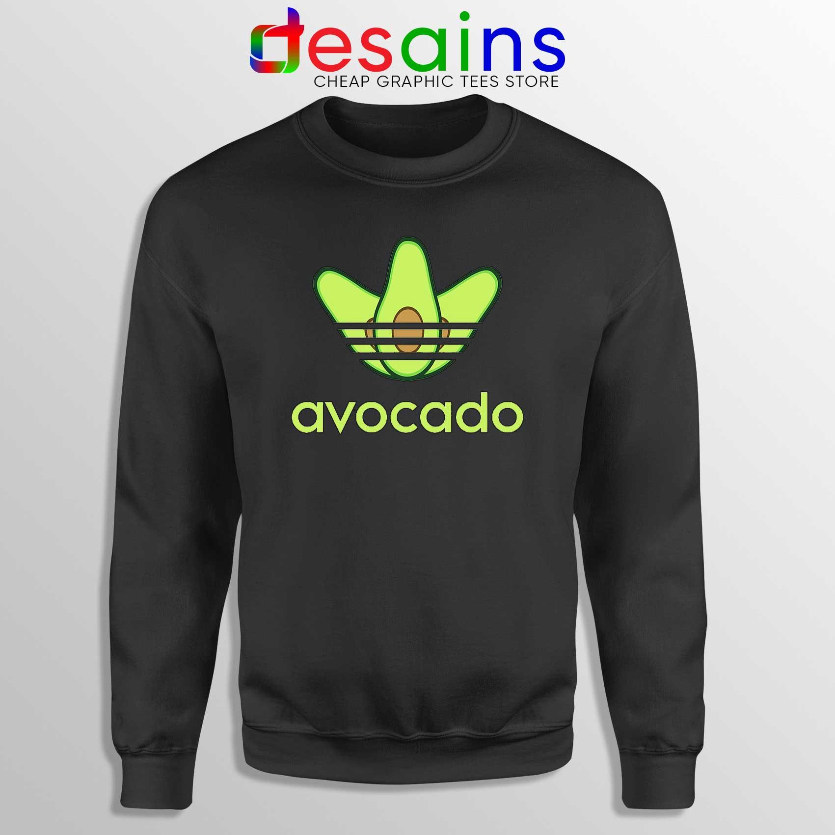 25b79da1d Sweatshirt-Avocado-Originals-Three-Stripes-Crewneck-Size-S-3XL.jpg