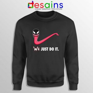 Sweatshirt Venom WE Just Do It Sweater Marvel Nike Parody S-3XL