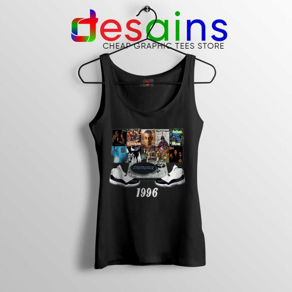 Tank Top Jordans 1996 Hip Hop Size S-3XL