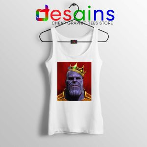 Tank Top Notorious BIG Thanos Avengers Endgame Tank Tops Size S-3XL