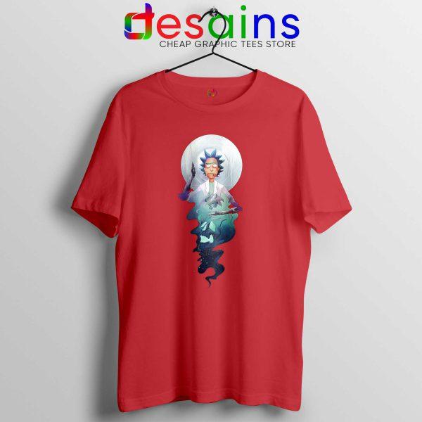 Tee Shirt Rick and Morty Adult Swim Magic T-shirt Size S-3XL