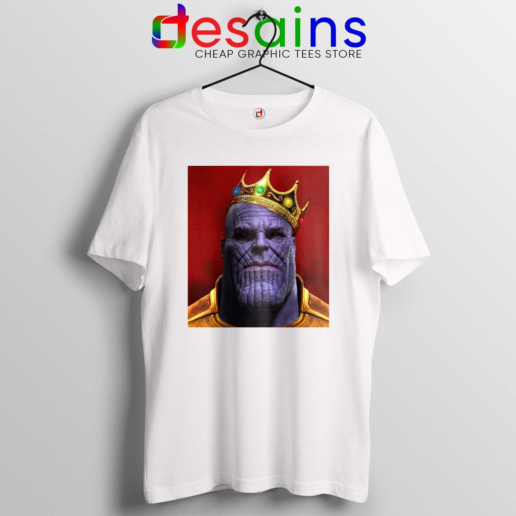 selected material new latest selection of 2019 Tee Shirt The Notorious Thanos Avengers Endgame T-shirt Size S-3XL