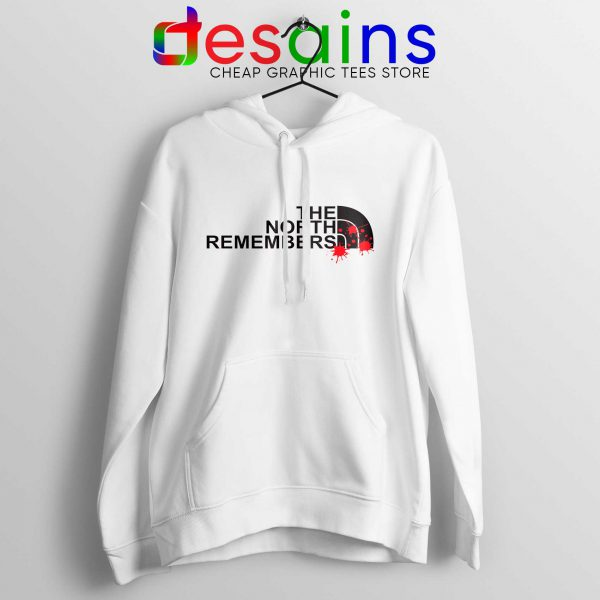 Best Hoodie North Face North Remembers Game of Thrones White Hoodies