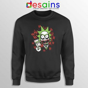 Buy Sweatshirt Rick Morty Joker Funny Crewneck Size S-3XL