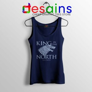 Cheap Tank Top King In the North Game of Thrones On Sale