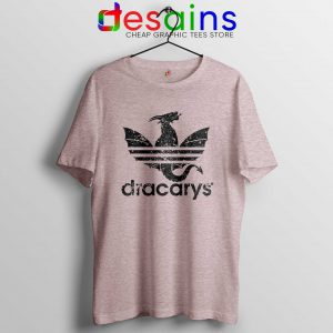Dracarys Adidas Parody Sports Game of Thrones Trefoil Dragon T-shirt FREE POST