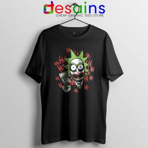 Tee Shirt Rick Morty Joker Hahaha Cheap Tshirt Funny