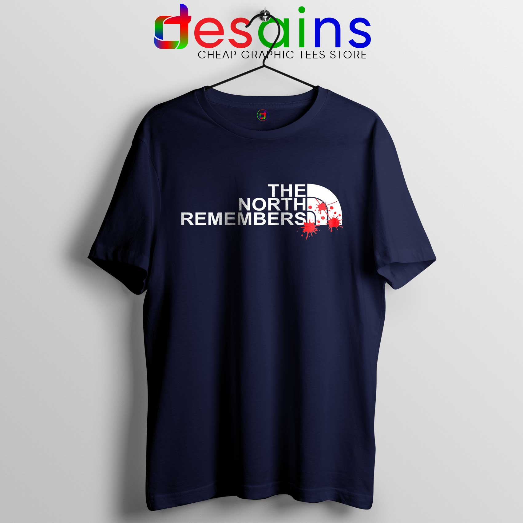9e358d1bc Tee Shirt The North Remembers The North Face Tshirt Game of Thrones