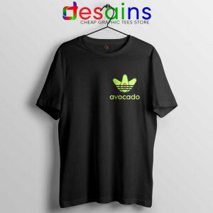 Avocado Adidas Pocket Style Tee Shirt Funny Avocado Size S-3XL