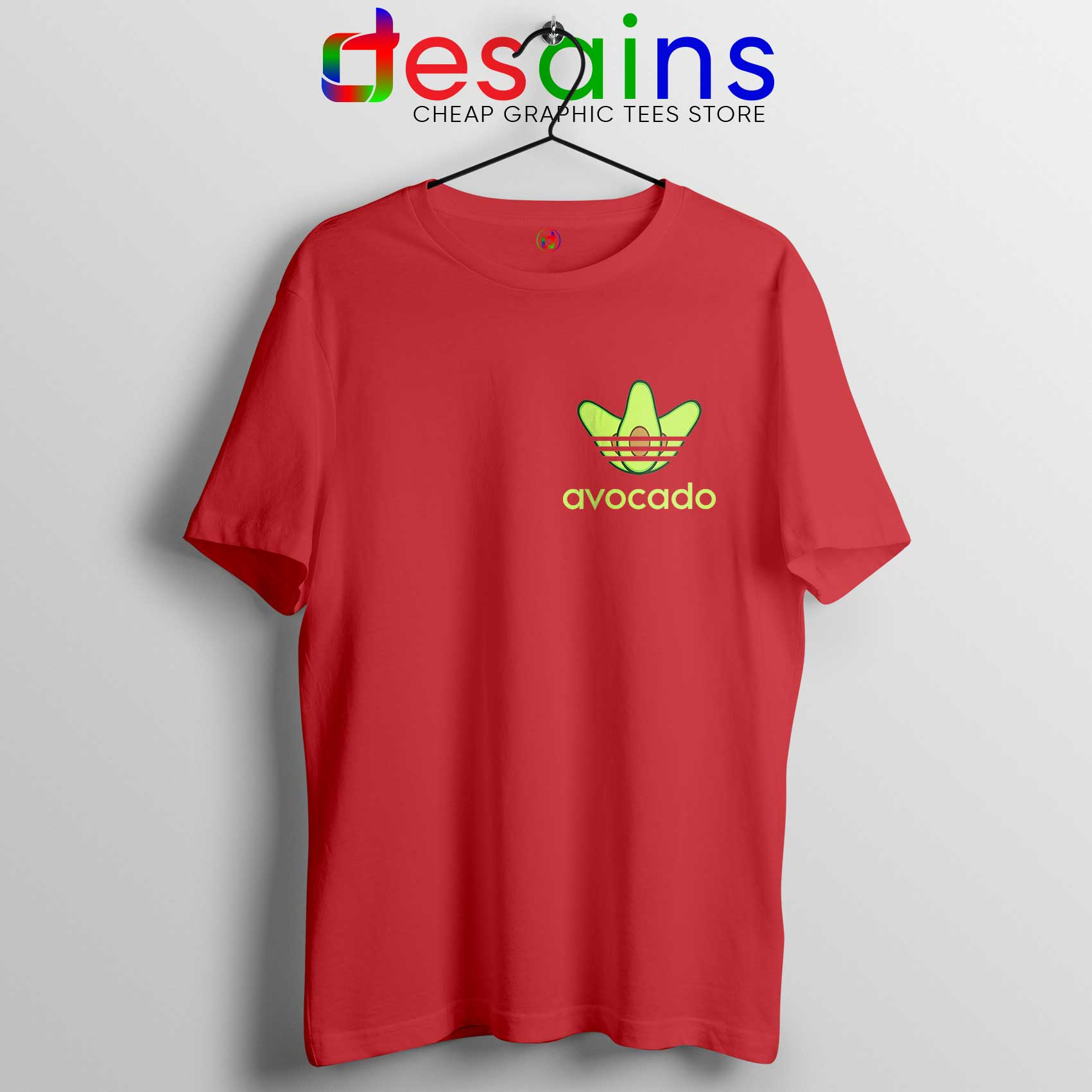 Outlet-Boutique sale bester Großhändler Avocado Adidas Pocket Style Tee Shirt Funny Avocado Size S-3XL