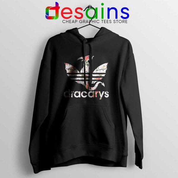 Buy Hoodie Dracarys Dragon Flowers Adidas Three Stripes Logo