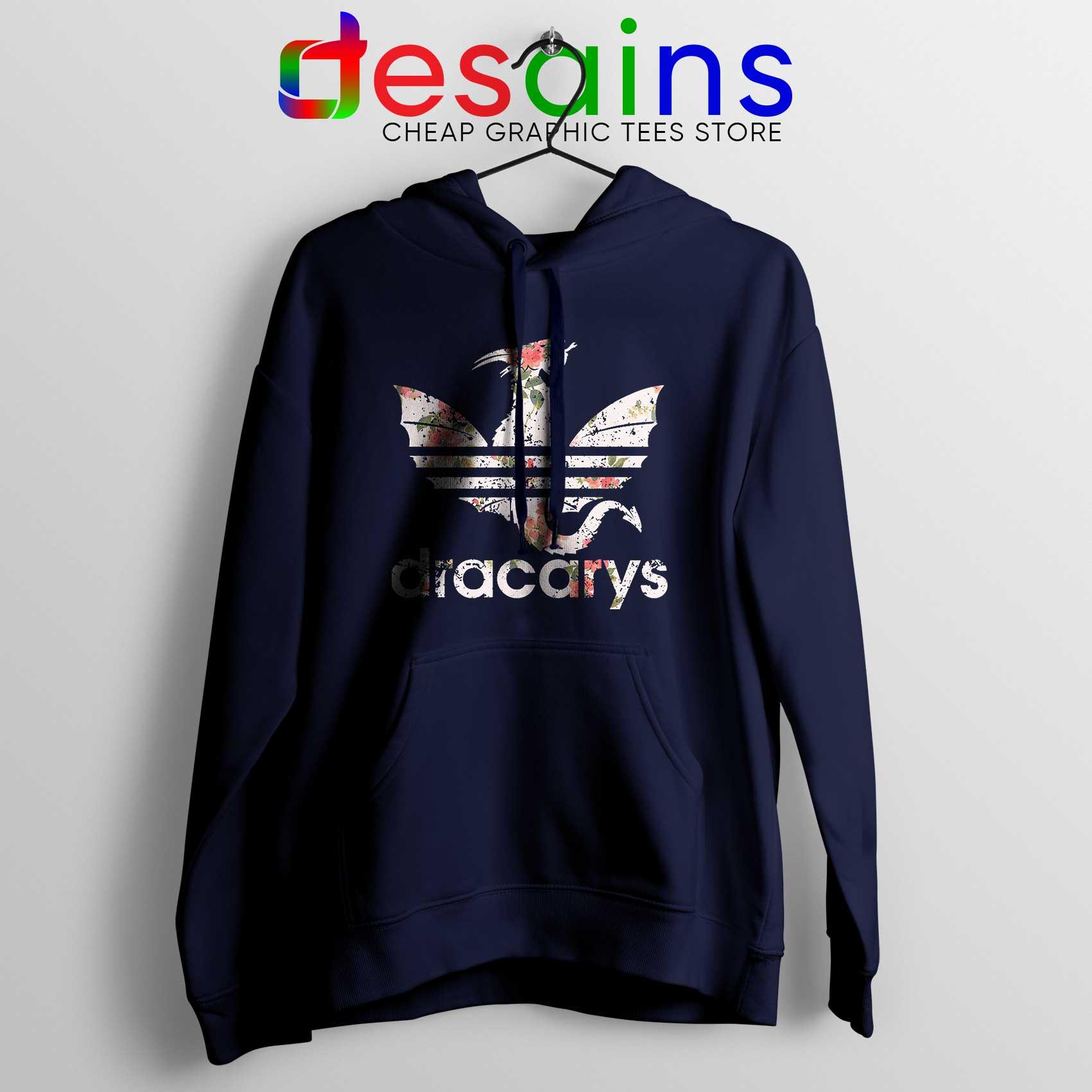 Instrumento conocido sed  Buy Hoodie Dracarys Dragon Flowers Adidas Three Stripes Logo