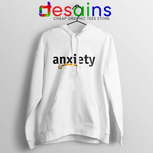 Cheap Hoodie Anxiety Amazon Logo White Hoodies Adult Unisex