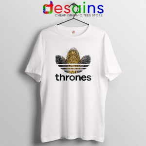 Game of Thrones Adidas Logo Tee Shirt Funny Adidas Shirt Size S-3XL