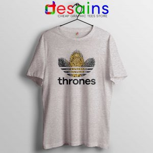 6ef87ab17 ... Game of Thrones Adidas Logo Tee Shirt Sport Grey Funny Adidas