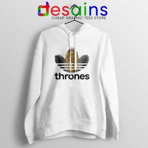 Hoodie Thrones Adidas Three Stripes Hoodies Adult Unisex