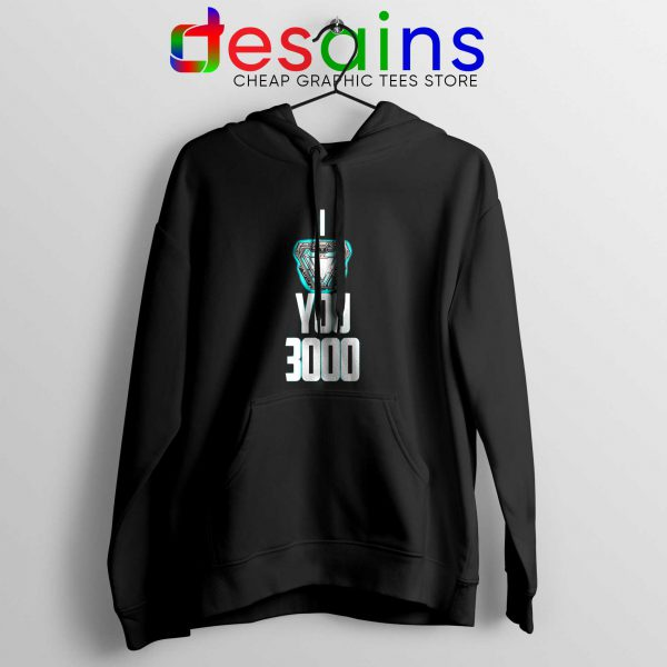 I Love You 3000 Hoodie Iron Man Avengers Endgame Quotes