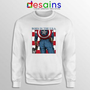Sweatshirt Captain Americas Ass Avengers Endgame 2019 Size S-3XL