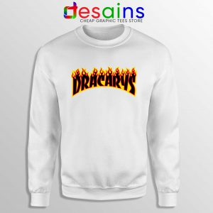Sweatshirt Dracarys Thrasher Fire Sweater Game of Thrones Size S-3XL