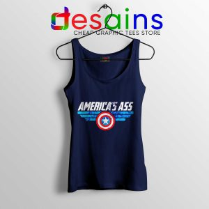 Tank Top America Ass Captain America Avengers Endgame Merchandise