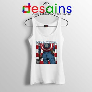 Tank Top Captain Americas Ass Avengers Endgame Marvel Marchendise