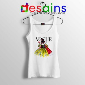 Tank Top Disney Vogue Princess Custom Tank Tops Size S-3XL