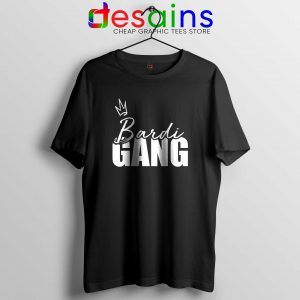 Bardi Gang Merch Tee Shirt Cartier Bardi Cardi B T-Shirt Size S-3XL