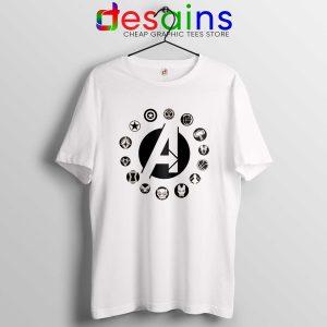 Best Tshirt Avengers Endgame Logo Superhero Tee Shirt Marvel Review