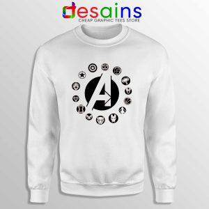 Buy Sweatshirt Avengers Endgame Logo Superhero Crewneck Sweater