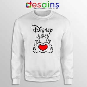 Buy Sweatshirt Disney Vibes Mickey Mouse Love Hands Crewneck