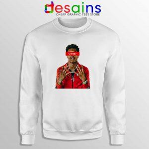 Buy Sweatshirt Lil Baby Supreme Crewneck Sweater American Rapper