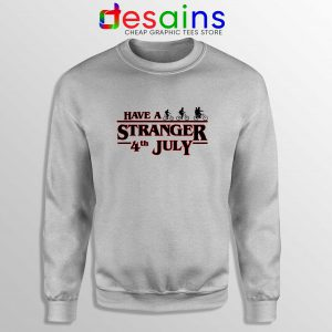Buy Sweatshirt Stranger Things 4th July Sweater Stranger Things 3 Netflix