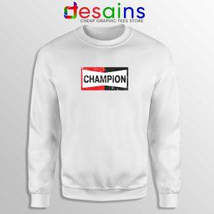 Champion Spark Plugs Sweatshirt Funny Champion Sweater Size