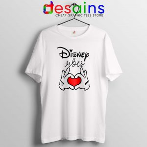Cheap Tshirt Disney Vibes Mickey Mouse Love Hands On Sale