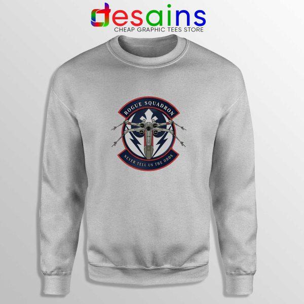 Rogue Squadron Patch Sweatshirt Star Wars Sweater Size S-3XL
